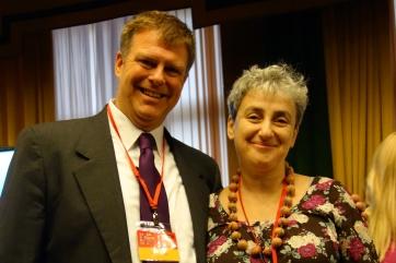 Dave Nelson and Anna Bitova of The Center for Curative Pedagogics