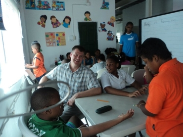 Dave Nelson at the Strategic Learning Center in Trinidad
