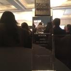 The Award at the Awards - 2017 Winner!