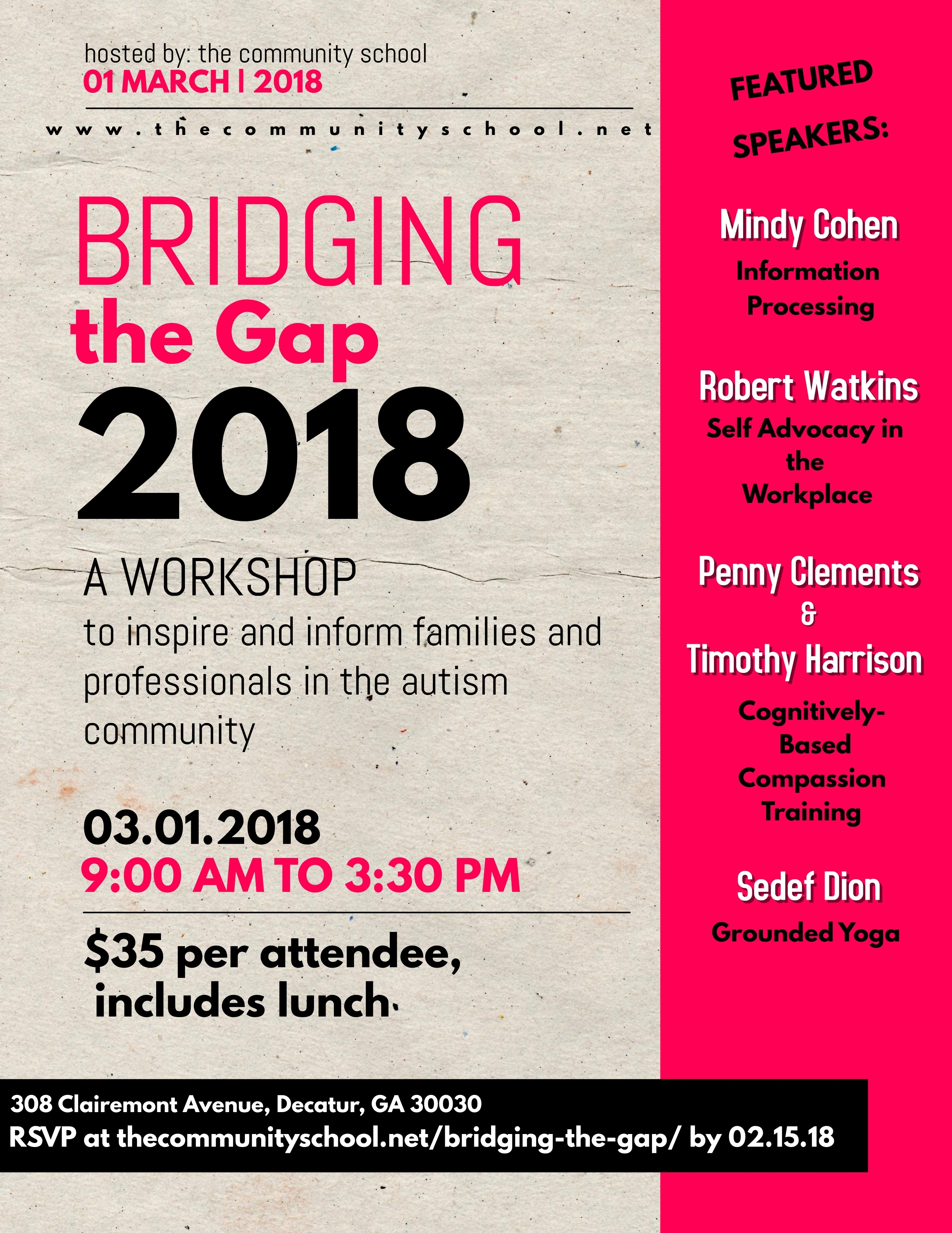 2018 Brigding the Gap_ Flyer (1)